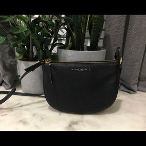 MARC JACOBS Supple Leather Double Zip Crossbody